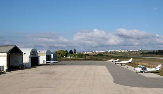 Aeródromo Municipal de Portimão - Arquivo CMP_Filipe da Palma