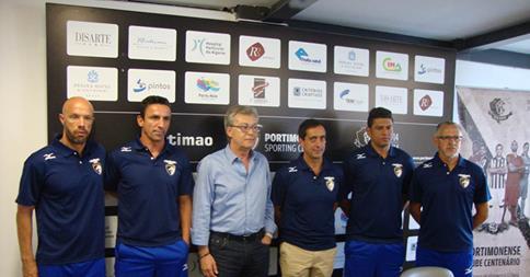 Apresentação nova equipa técnica Portimonense 2014 2015