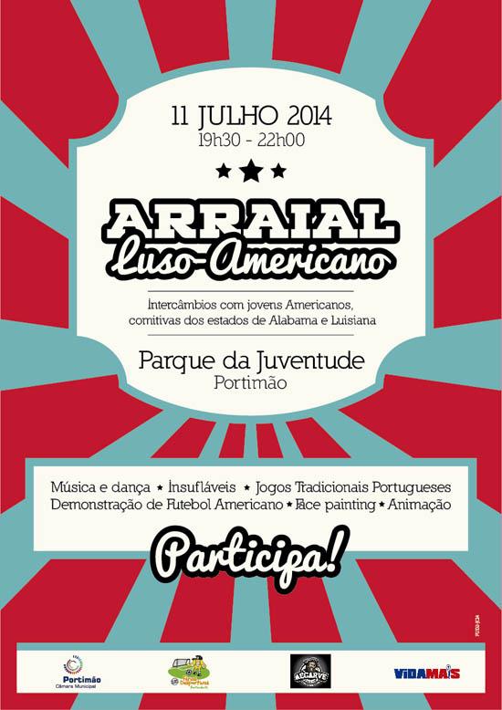 CARTAZ_ARRAIAL LUSO AMERICANO