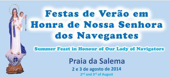 Cartaz Festas da Salema - 2014
