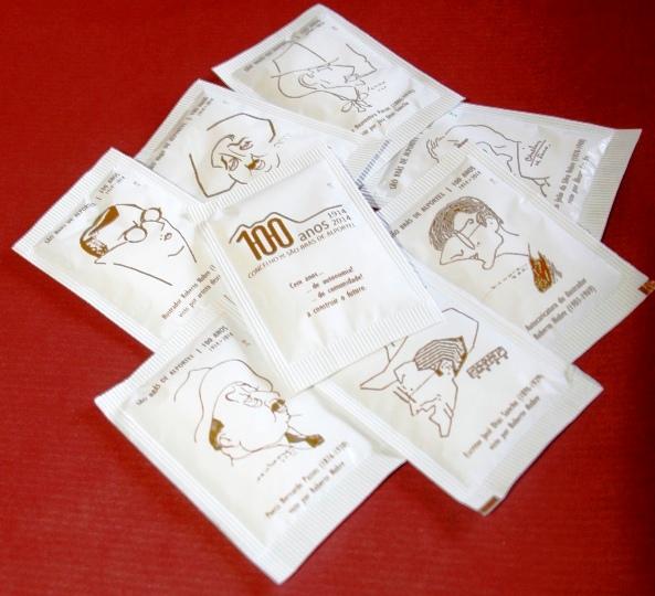 Coleção Pacotes de Açucar Centenário de São Brás