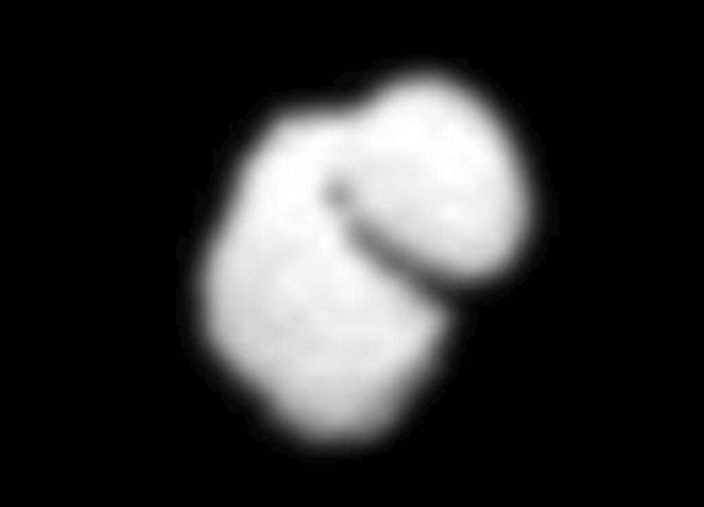 IMAGEM do cometa 67PChuriumov-Gerasimenko captada pela sonda roseta
