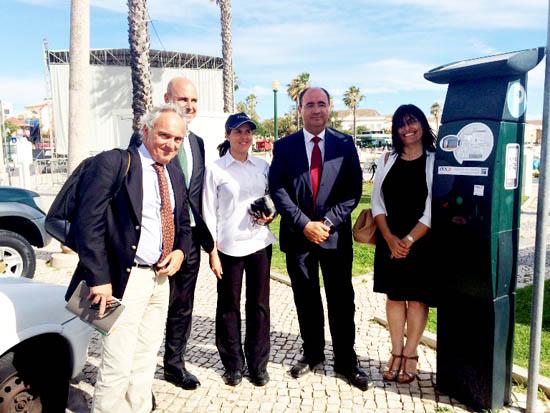 Lançamento de Parquímetros pagos por telemóvel em Faro