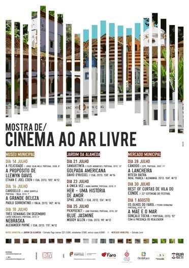 Mostra Cinema Ar Livre Faro 2014