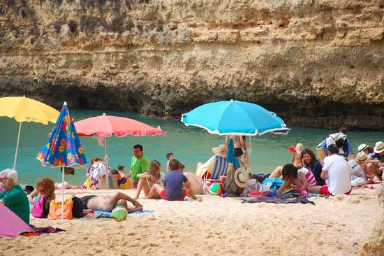 praia calor