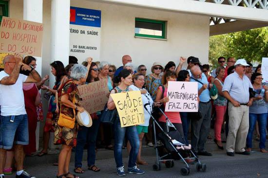 protesto maternidade