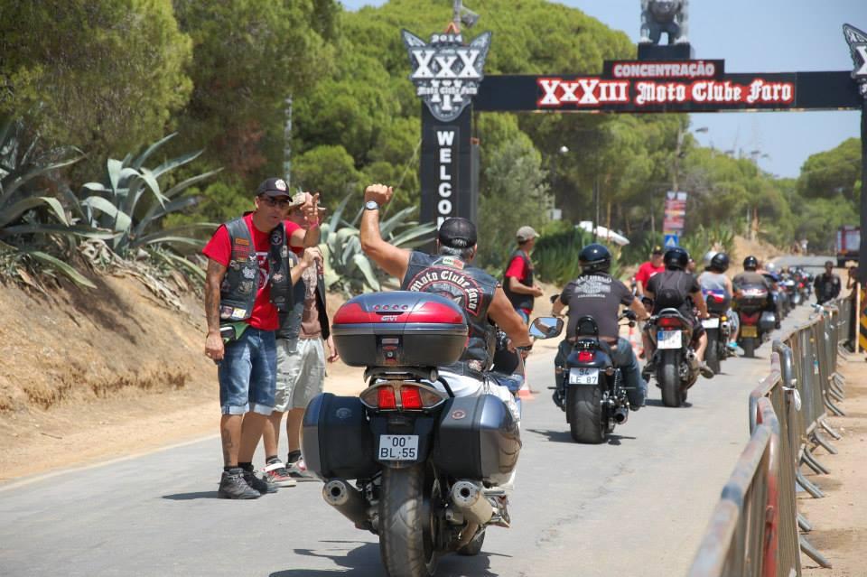 Concentração Internacional Motoclube de Faro 2014