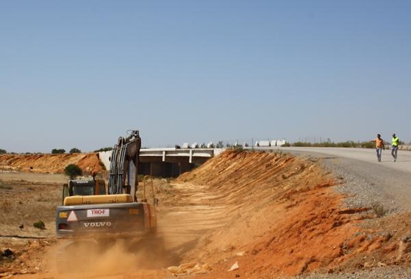 Obras Recomeçaram na Variante Norte de Faro_7
