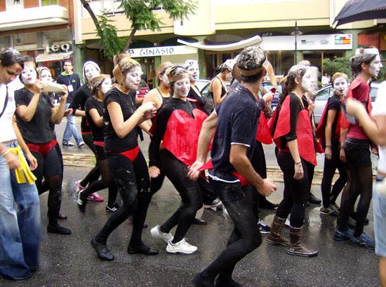 Desfile dos Caloiros Faro