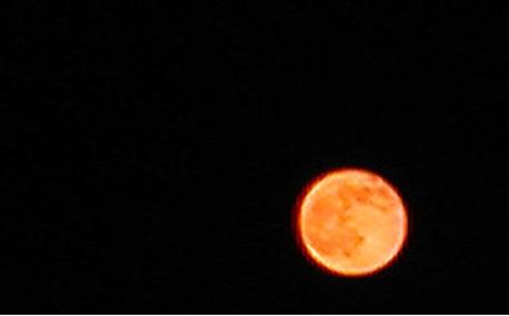 Lua no Horizonte