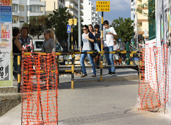 Passagem de nível pedonal desativada em Olhão_4