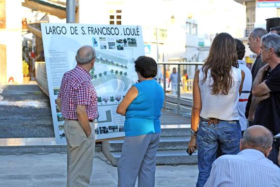 Projeto requalificação Largo S Francisco apresentado em Loulé_1