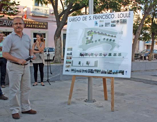 Projeto requalificação Largo S Francisco apresentado em Loulé_4