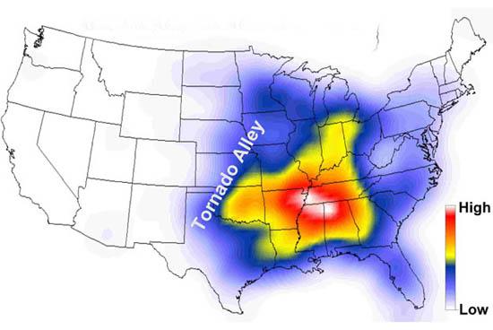 Corredor dos tornados