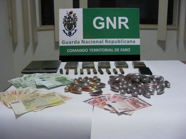 Apreensão Droga GNR Portimão Dez 2014