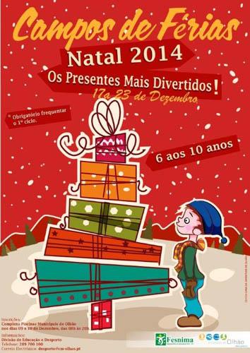 Campos Férias Natal Olhão2014