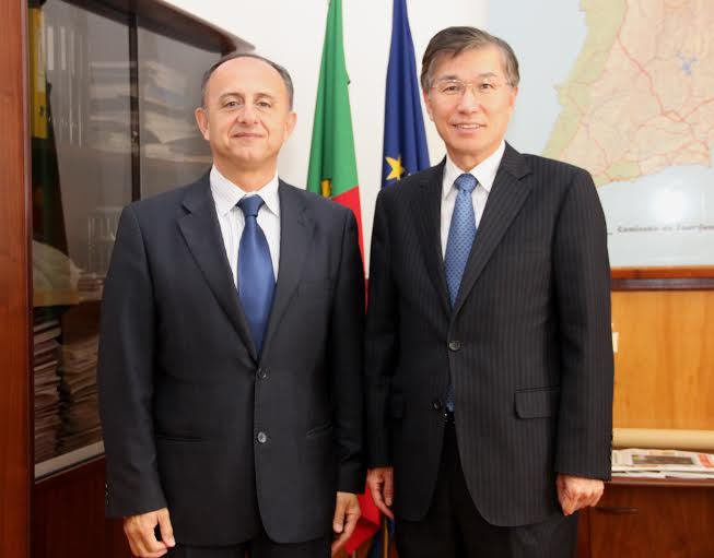 David Santos e embarixador da Coreia