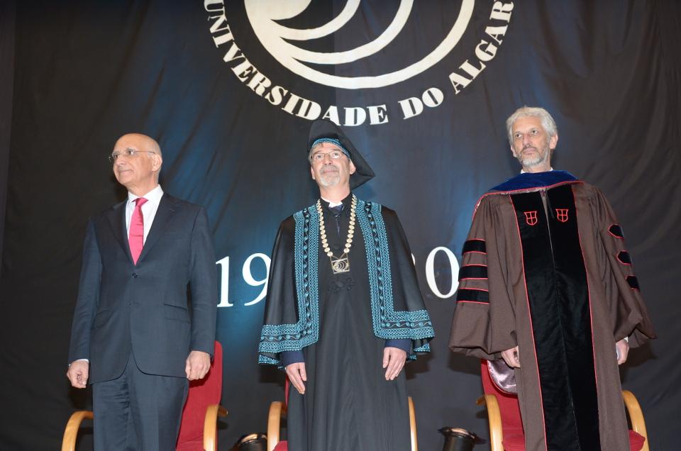 Esq. Dir. - Luis Magalhães, António Branco e António Feijó_UAlg
