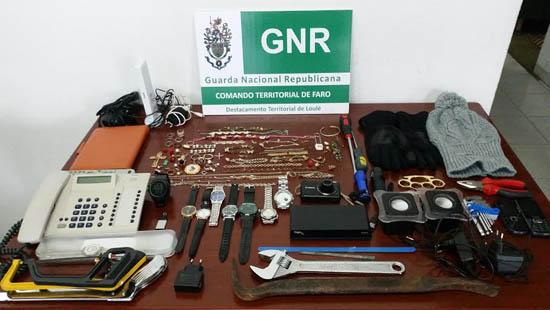 GNR assaltante
