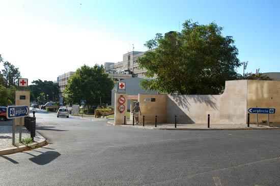 hospital de Faro_entrada urgência