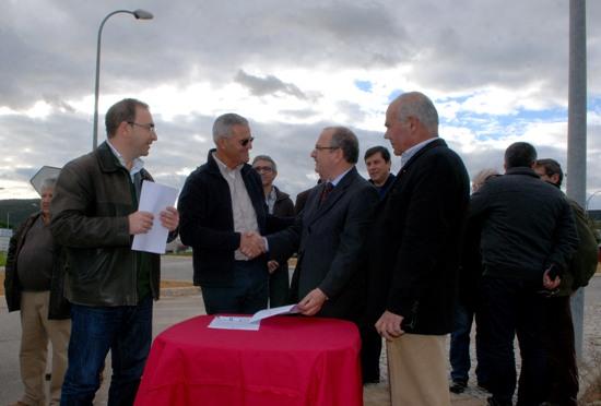 Auto de Consignação Beneficiação da EN 396 Troço entre a Zona Industrial de Loulé e a Franqueada 1.ª Fase C.M.Loule Mira (2)