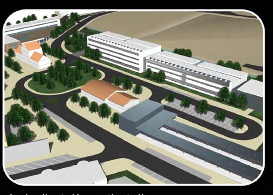 Lagos_estação_antevisão novos edifícios