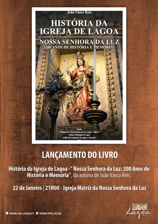Lançamento do livro História da Igreja de Lagoa