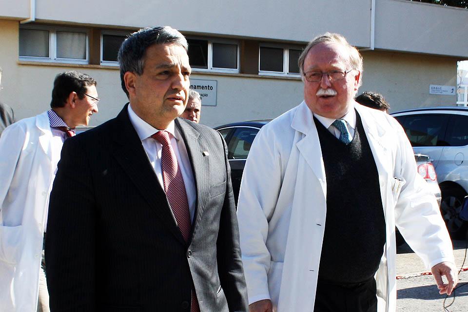 Paulo Macedo e Pedro Nunes