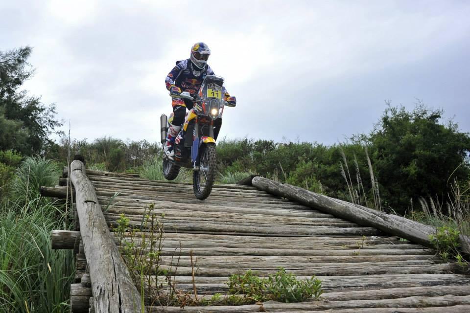 Ruben Faria Etapa 1 Dakar 2015