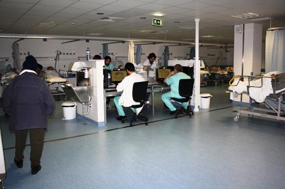 Sala Tratamentos Urgência Hospital de Faro