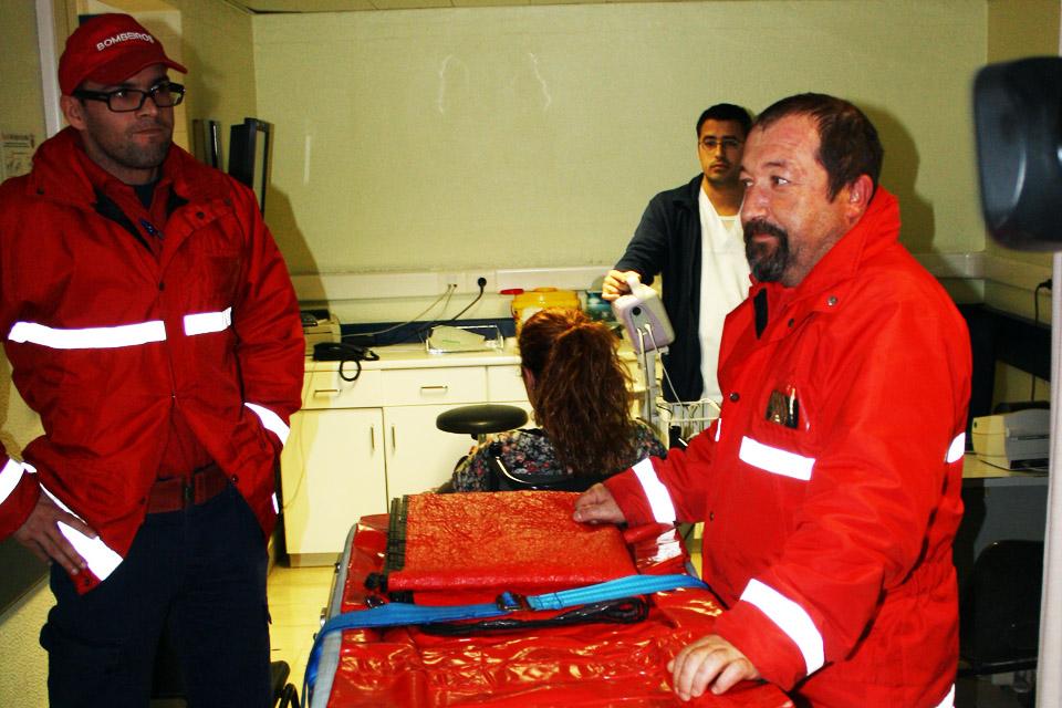 Triagem no Hospital de Faro