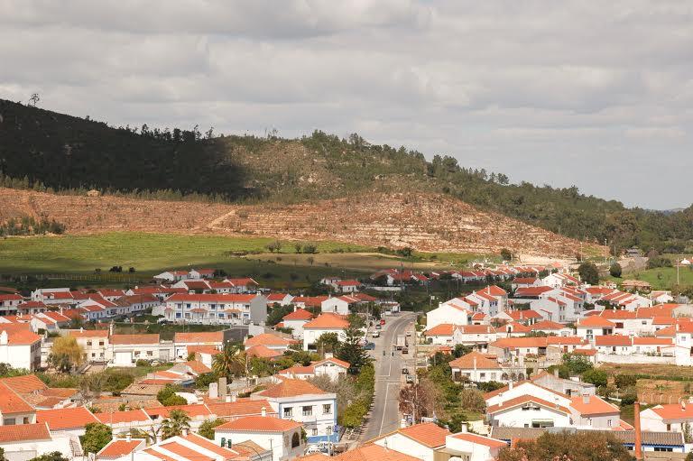 Vista geral da Aldeia de S. Luis