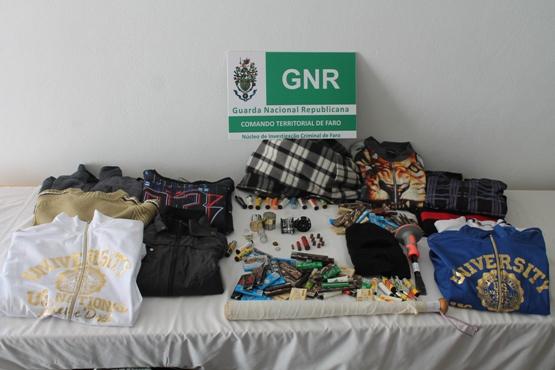 Apreensão GNR Olhão Fev 2015