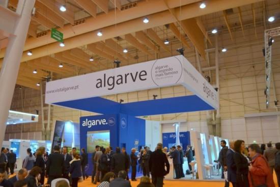 Vista geral do Stand Algarve