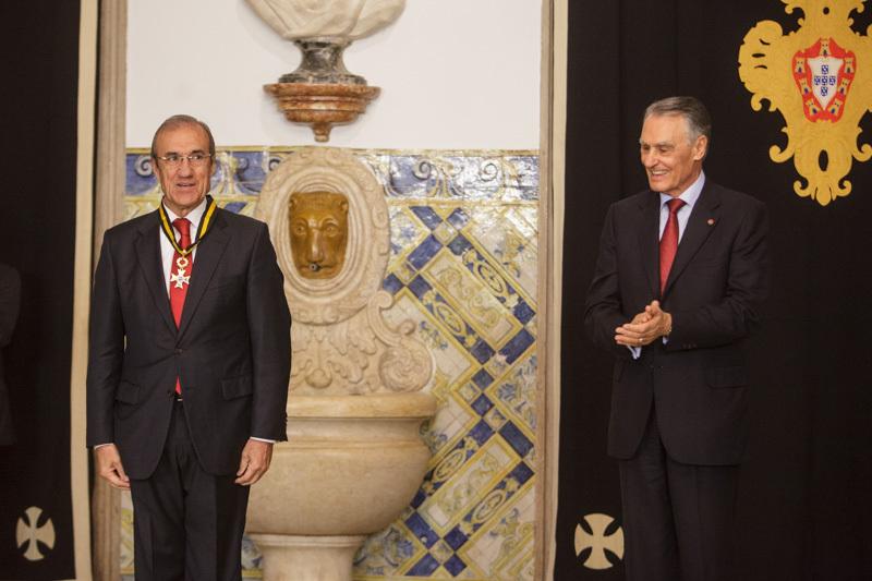 Cavaco Silva condecorou Francisco Leal_Site PR
