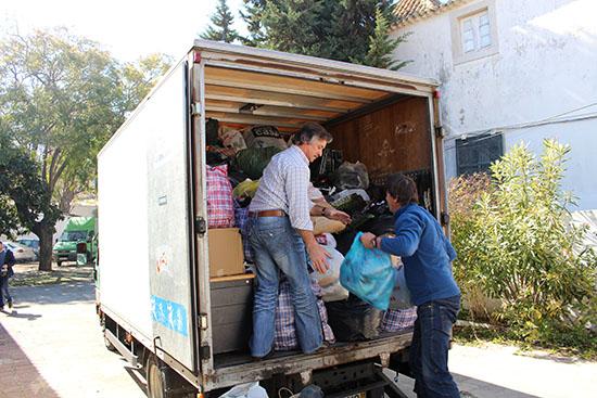 Donativos recolhidos em Faro para Cabo Verde_1