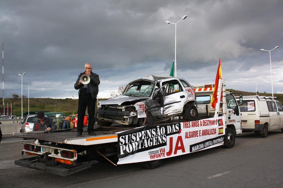 Protesto Ibérico anti-Portagens na Ponte do Guadiana_16