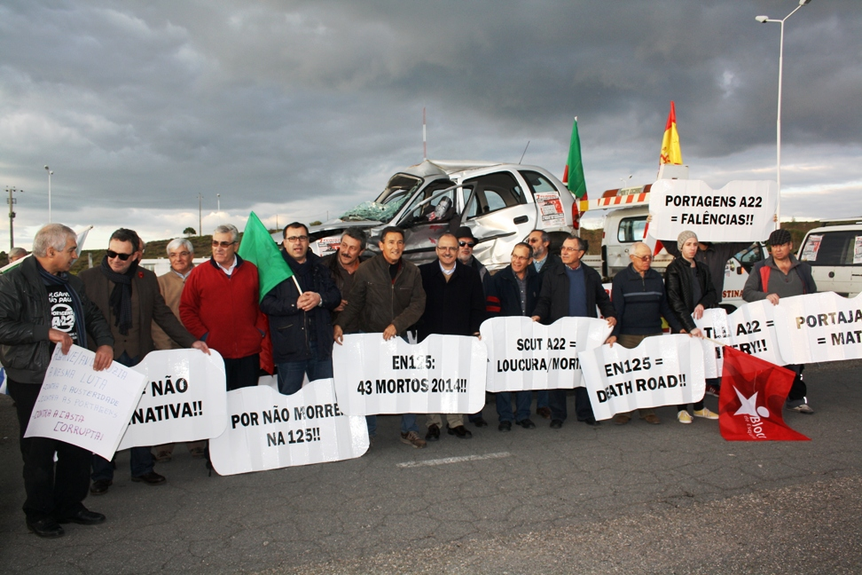 Protesto Ibérico anti-Portagens na Ponte do Guadiana_22