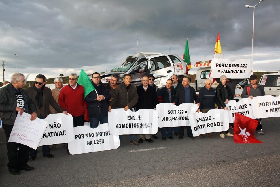 Protesto Ibérico anti-Portagens na Ponte do Guadiana_22