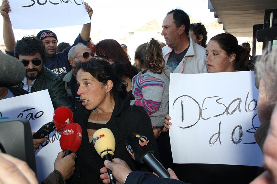 Protesto contra demolições no Teatro das Figuras_1