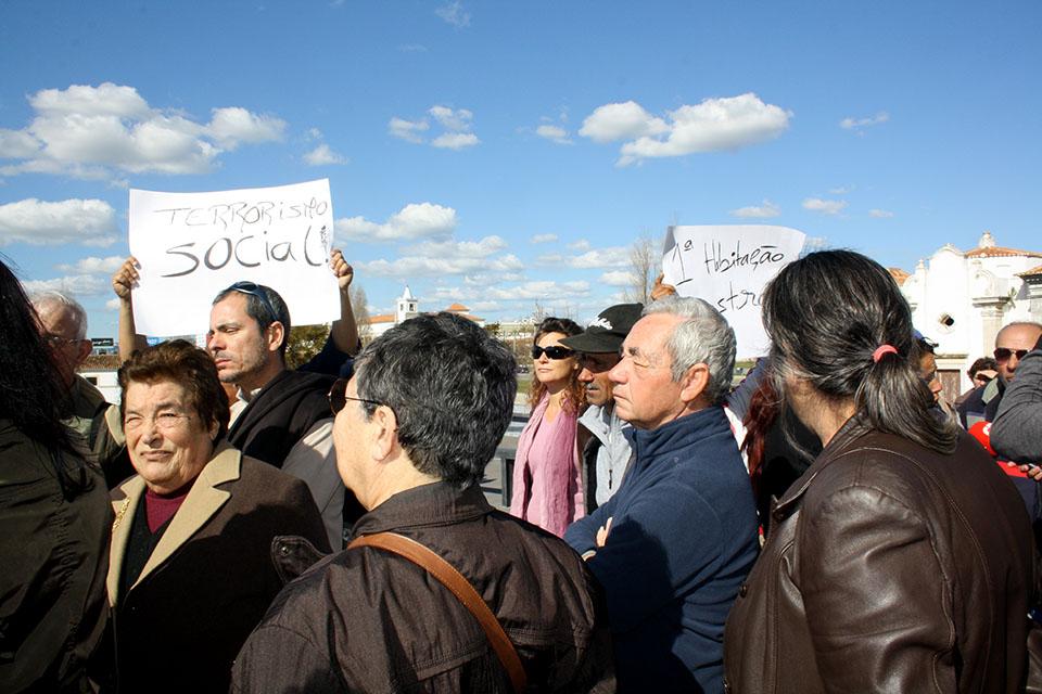 Protesto contra demolições no Teatro das Figuras_2