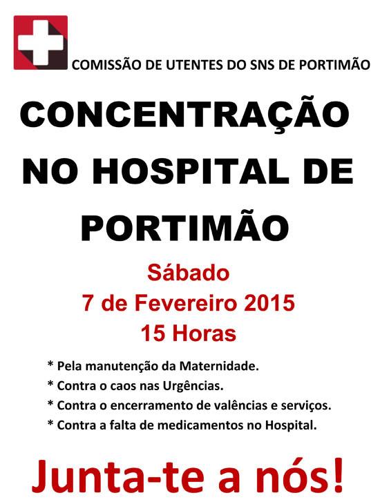 manif hospital portimão1