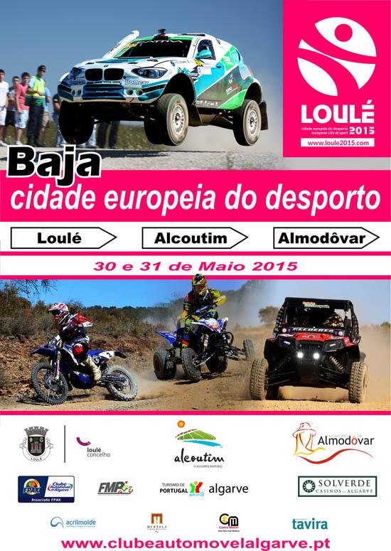 Cartaz Baja Cidade Europeia do Desporto 2015
