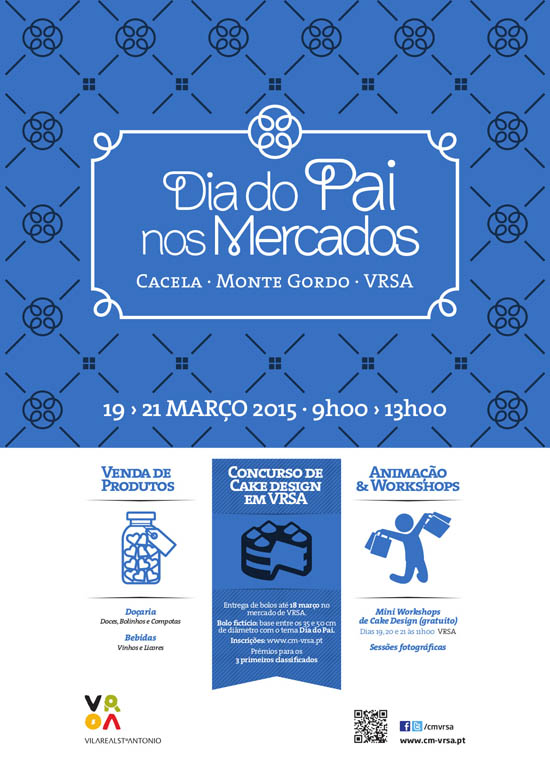 Cartaz_Dia do Pai nos Mercados de VRSA