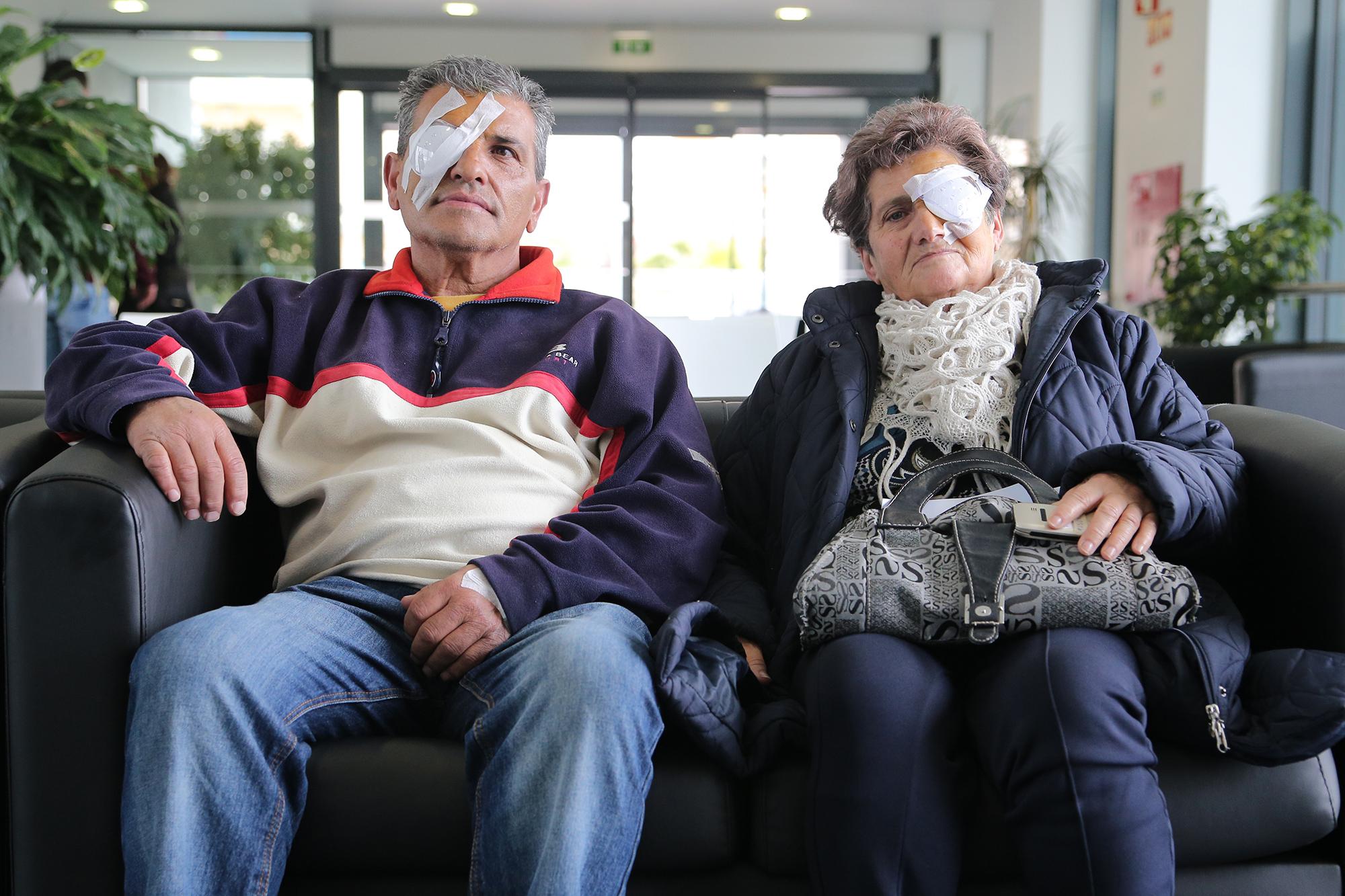 Utentes de Olhão após cirurgia às cataratas