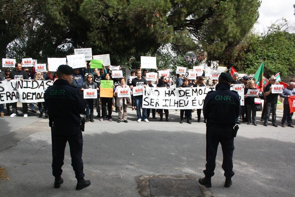 Protesto contra Passos Coelho Aniversario RTA_1