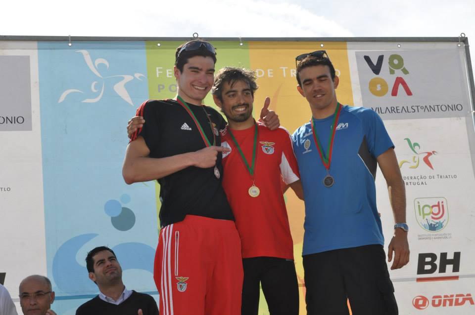 João Silva foi o vencedor do triatlo masculino