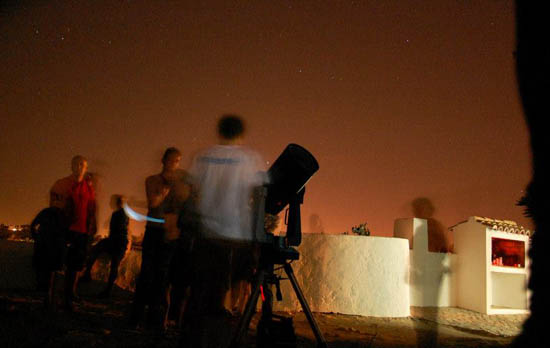 Astronomia no Verão - foto de Elisabete Rodrigues