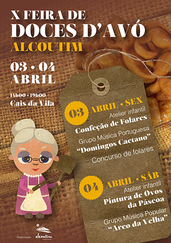 cartaz A3_X Feira de Doces D'Avó