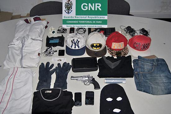Apreensão GNR Quarteira